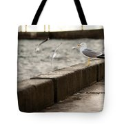 The White Bird Tote Bag
