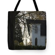 The White Church Tote Bag