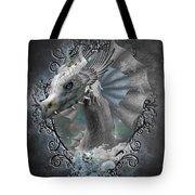 The White Dragon Tote Bag