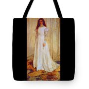 The White Girl Tote Bag