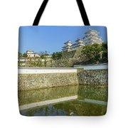 The White Heron Castle - Himeji Tote Bag