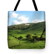 The White Horse Westbury England Tote Bag