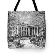 The White House, 1877 Tote Bag