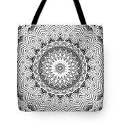 The White Kaleidoscope No. 2 Tote Bag