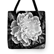 The White One Tote Bag