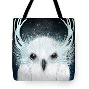 The White Owl Tote Bag