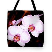 The White Twins Tote Bag