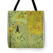 The White Witch Tote Bag