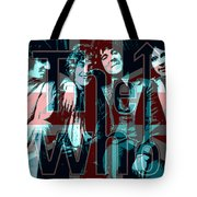 The Who Poster  Tote Bag