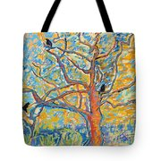 The Wind Dancers Tote Bag