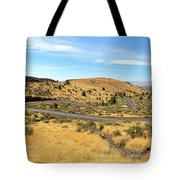 The Winding Road In Central Oregon Tote Bag