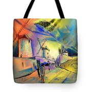 The Windmills Del Quixote 02 Tote Bag