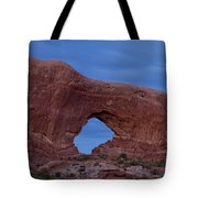 The Window At Arches N.p. After Dark Tote Bag