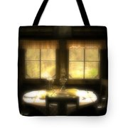 The Window At Breakfast Tote Bag