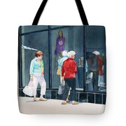The Window Shoppers Tote Bag