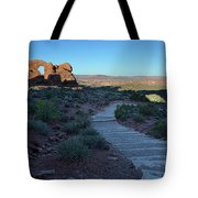 The Windows Pathway Tote Bag