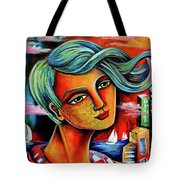 The Winds Of Change Tote Bag