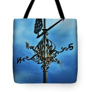 The Winds Of Time Tote Bag