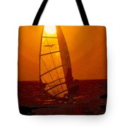 The Windsurfer Tote Bag