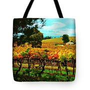 The Winemakers Residence Tote Bag