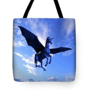 The Winged Horse Tote Bag
