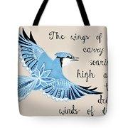 The Wings Of Hope Tote Bag