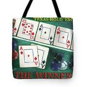 The Winner Tote Bag by Debbie DeWitt