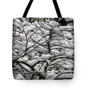 The Winter Has Arrived Tote Bag