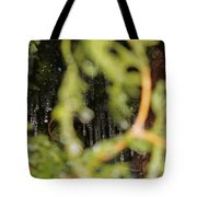 The Winter Hides Beyond The Green Tote Bag