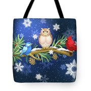 The Winter Watch Tote Bag
