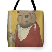 The Wise Beaver Tote Bag
