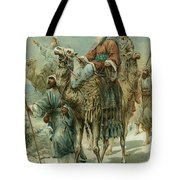 The Wise Men Seeking Jesus Tote Bag