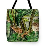 The Wishing Tree Tote Bag