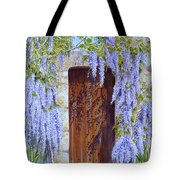 The Wisteria Gate Tote Bag