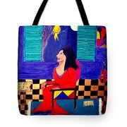 The Witch's Duet Tote Bag