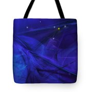 The Wizard Mid-incantation Tote Bag