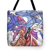The Wizards Daughter Tote Bag