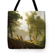 The Wolf River - Kansas Tote Bag