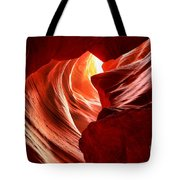 The Woman In The Canyon Tote Bag