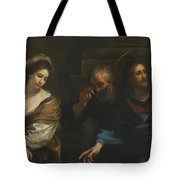 The Woman Taken In Adultery Tote Bag