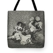 The Women Give Courage From The Series The Disasters Of War Tote Bag