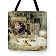 The Women Of Amphissa Tote Bag by Sir Lawrence Alma-Tadema