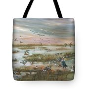 The Wondrous Feathered Things Of The Great Marsh Tote Bag