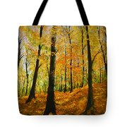 The Wood For The Trees Tote Bag