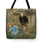 The Wood Gatherer Tote Bag