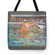 The Wooden Boat Tote Bag