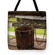 The Wooden Bucket Tote Bag
