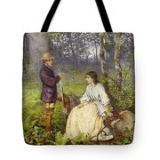 The Woodland Encounter  Tote Bag