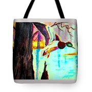 The Woodland Pond Tote Bag