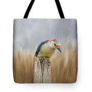 The Woodpecker Tote Bag